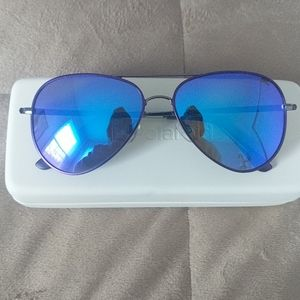 NEW Polarized Purple Aviator Sunglasses